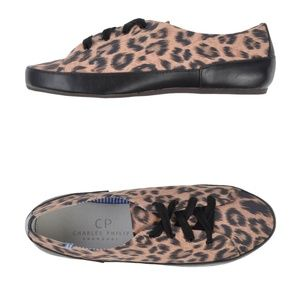 CP Charles Philip Shanghai Leopard Sneakers